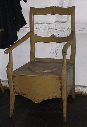 Toilet Desk Chair by Stool