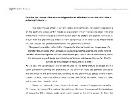 Greenhouse Effect Essay Pdf by Free Essay On Greenhouse Effect Pdf Programs Adorakelv