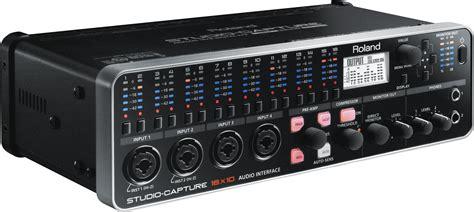 Usb Audio Capture roland studio capture usb 2 0 audio interface