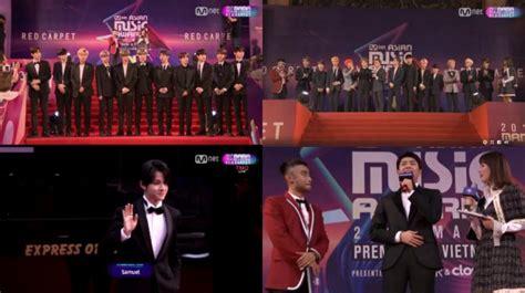 Setelan Kemeja Dan Dress Songsong intip gaya kece wanna one seventeen cs di carpet kabar berita artikel