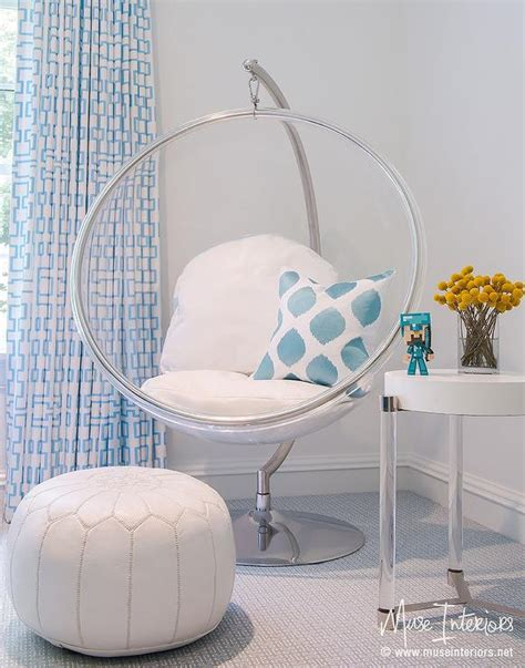 chairs for girls bedrooms eero aarnio hanging bubble chair indoor or outdoor stand nurseries and kid s rooms