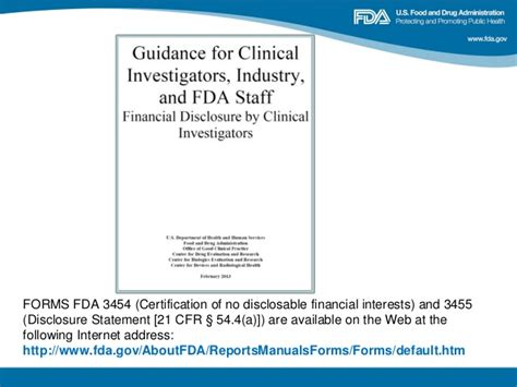 section 801 clinical trial fda 2013 clinical investigator training course