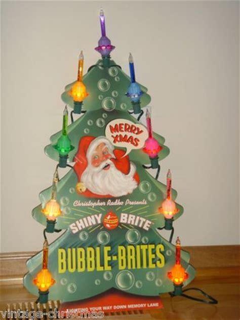 christopher radko halloween bubble lights radko shiny brite christmas department store bubble light