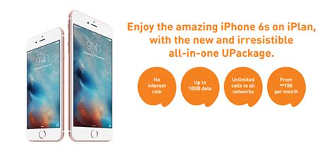 take the iphone 6s home for just rm188 per month with u mobile s upackage plan hardwarezone