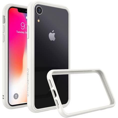 rhinoshield crashguard nx iphone xr case white