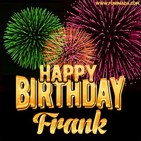 wishing   happy birthday frank  fireworks gif animated greeting card