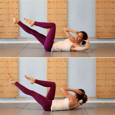 Criss Cross crisscross pilates ab workout series of five