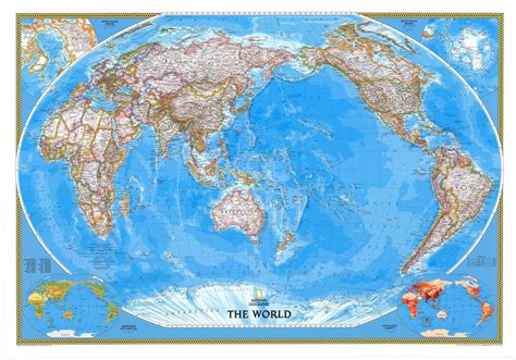micador maps of the world