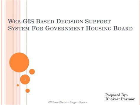 Gis Based Decision Support System Authorstream Gis Powerpoint Templates