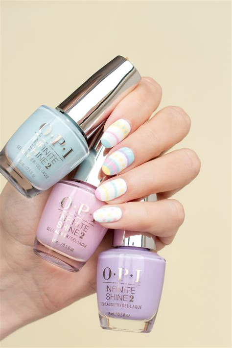 Manicure Opi designscape tutorial classic easter manicure by so nailicious opi