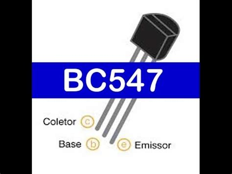bc547 transistor working pdf transistor bc547 como medir testar