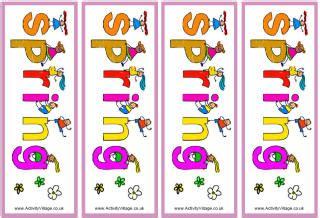 printable bookmarks spring more spring printables
