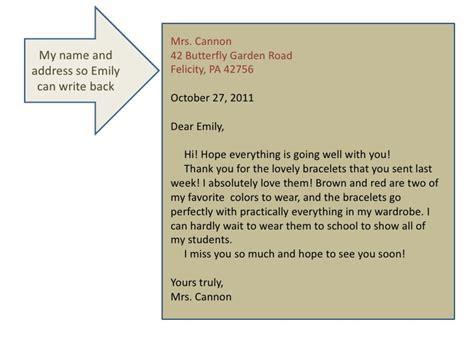 Essay Form 4 Informal Letter by Fundamentals Writing And Literature Informal Letter Writing Presentat