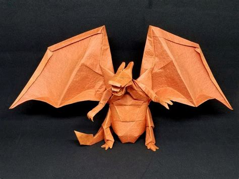 Origami Charizard - charizard designed by tadashi mori by m ttygroves