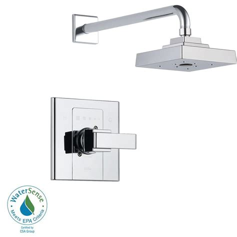 Delta Shower Faucets With Sprays by Delta Arzo Single Handle 1 Spray Shower Faucet Trim Kit