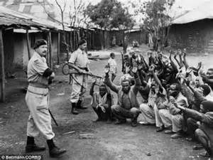 white male castration kenya mau mau fighters raped castrated and beaten in
