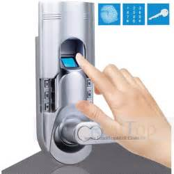 security biometric door lock fingerprint keypad keyless entry locks for home and offices diy