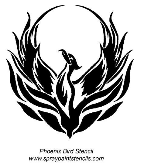 55 phoenix bird tattoos and designs