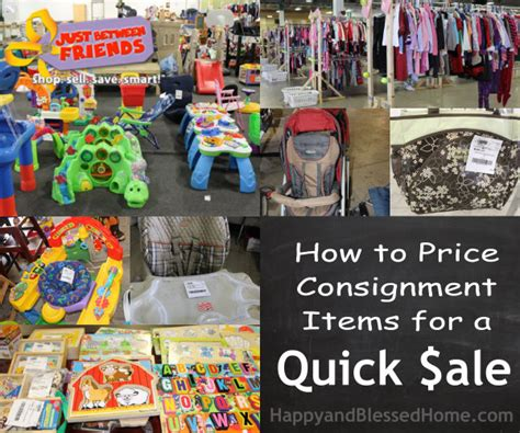 how to price consignment items for sale of a