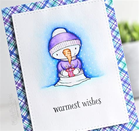 Snowman Brush Pen 12w 501 best snowman cards images on cards snowman and cards