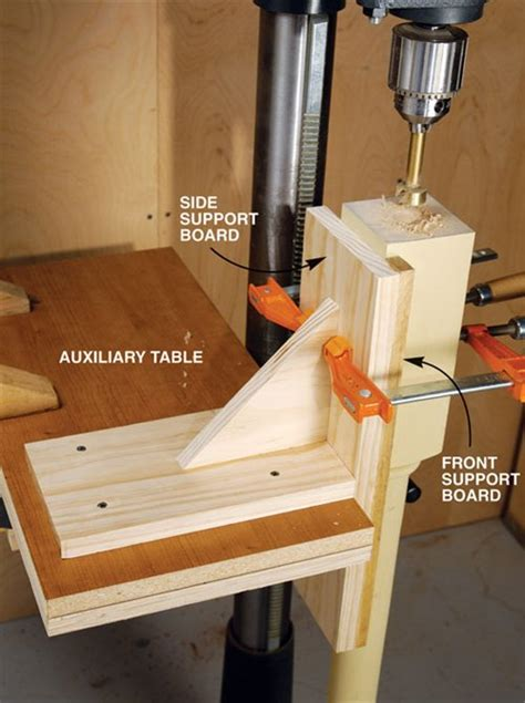 vertical drilling jig popular woodworking magazine