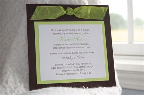 Handmade Baby Boy Shower Invitations - discover and save creative ideas