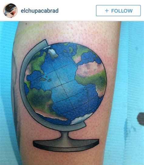 pinterest tattoo globe world globe tattoo tattoo pinterest globe tattoos