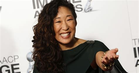 asian actress nominated for emmy sandra oh is first asian woman nominated for emmy for lead