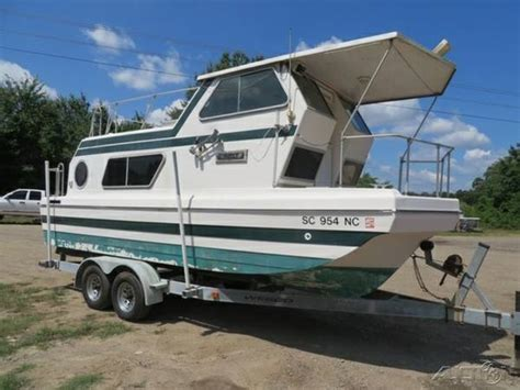 house boats for sale in sc 1978 steury trailerable houseboat honda 50 four stroke a c