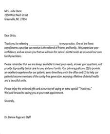 thank you letter to doctor office 5 sle thank you letters to doctor free sle