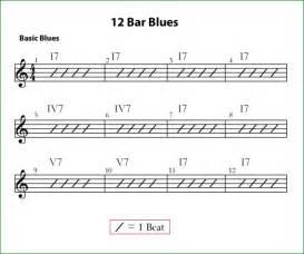 12 bar blues progression