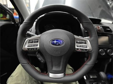 Subaru Forester Steering Wheel Upgrade Sti Part No