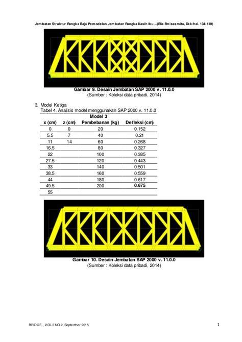 Jembatan Rangka Baja jurnal jembatan rangka baja