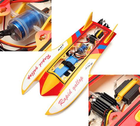 super fast brushless rc boats rc rtr 2 4g brushless super fast racing boat ebay