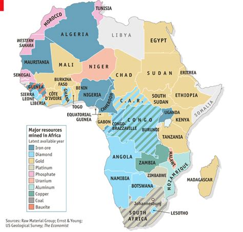 africa map resources wish you were mine the economist