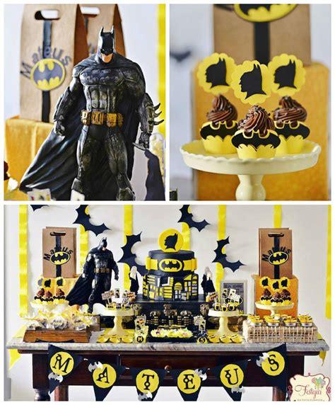 imagenes cumpleaños batman fiesta de cumplea 241 os de batman fiestas y cumples