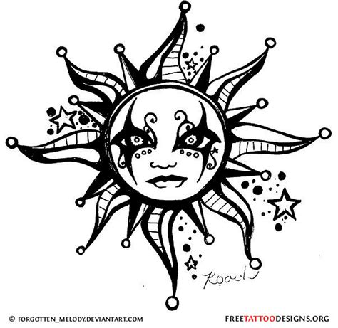 gothic tattoo designs 65 sun tattoos tribal sun designs