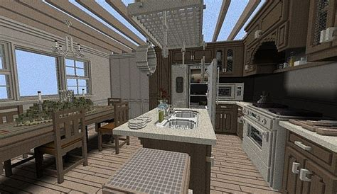 Kitchen Ideas For Minecraft Maps Top 4 Maisons De G 233 Ants 1 X Minecraft France