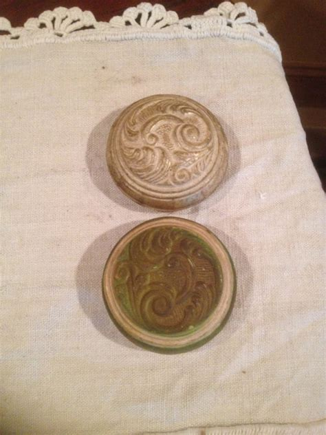 Door Knob Covers Rubber by Two Vintage Rubber Door Knob Covers With Ornate Design