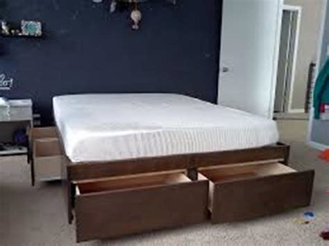 Platform Bed Without Headboard Platform Bed Without Headboard Ideas With Images And Hamipara