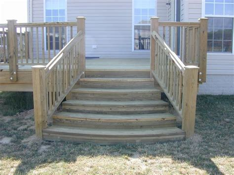Deck Stairs Design Ideas Deck Steps Images This Customer Wanted Something A Different In The Stairs That