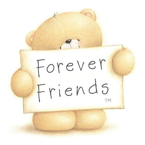 forever friends bears with quotes quotesgram