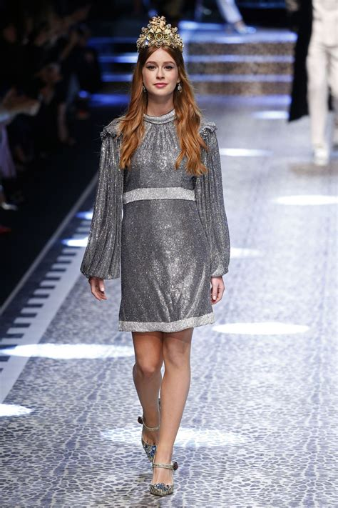 Milan Fashion Week marina ruy barbosa dolce gabbana show runway on milan