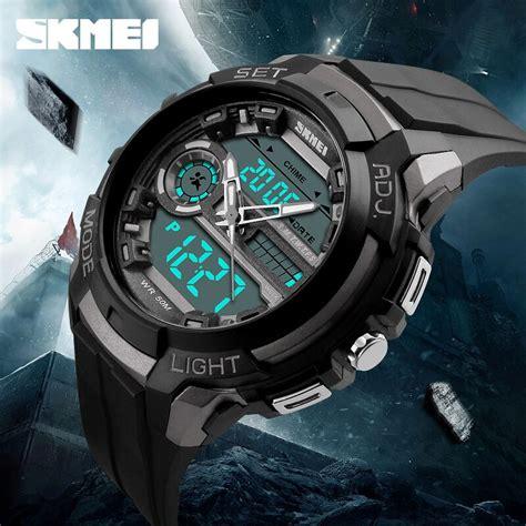 Skmei Jam Tangan Analog Pria 1168cl Black Gold T3010 skmei jam tangan analog digital pria ad1202 black gold