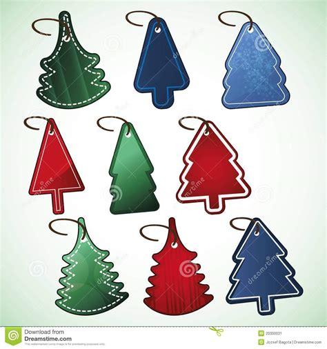 christmas tree price tags stock image image 20300031