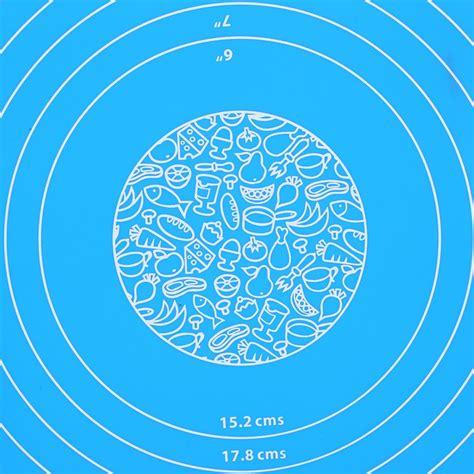 Silicone Mat Alas Adonan Pizza Martabak 40 X 60 Cm mat alas adonan kue fondant silikon blue jakartanotebook