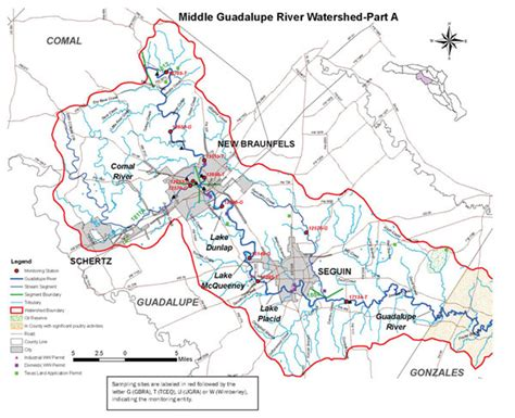 guadalupe river map texas guadalupe blanco river authority guadalupe river basin map