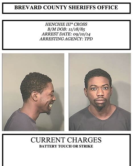 Florida Arrest Records Brevard County Arrests In Brevard County Sept 11 2014