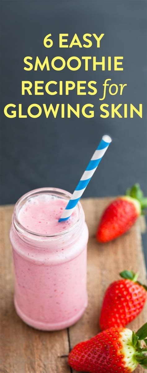 Detox Smoothie Recipes For Clear Skin by Best 25 Clear Skin Detox Ideas On