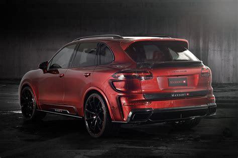 mansory cars porsche cayenne turbo individualized mansory style